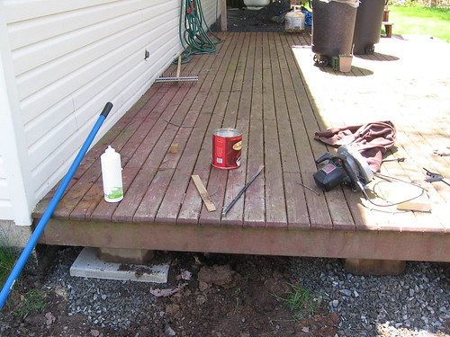 Project: Jacking up the deck | by Scott-Simpson