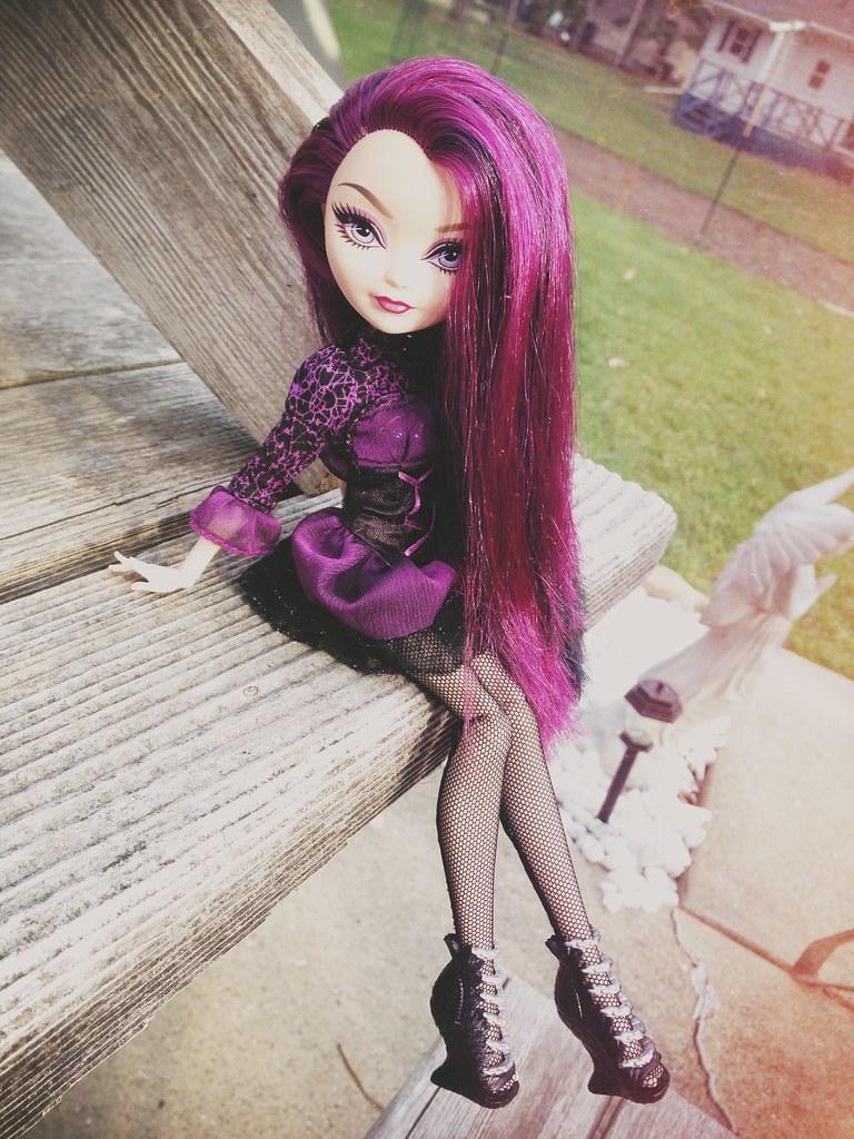 Ever after high raven queen colin turner flickr