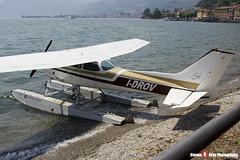 I-DROV - R1722810 - Aero Club Como - Cessna R172K Hawk XP - Lake Como, Italy - 160624 - Steven Gray - IMG_5382