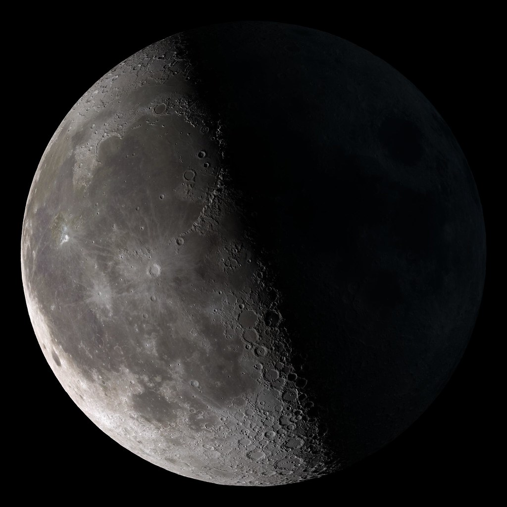 the third quarter There are 4 primary moon phases and 4 intermediate phases new moon first quarter full moon third or last quarter waxing and waning crescent moon.
