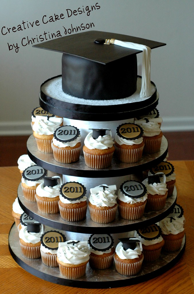 Graduation Cupcake Tower | For Grad's from multiple ...