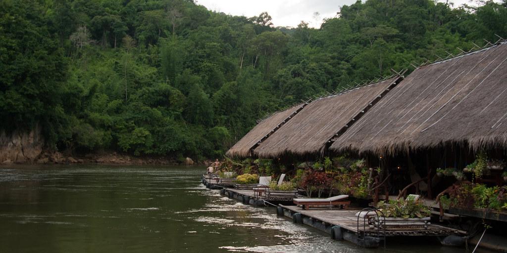 River kwai jungle rafts kanchanaburi thailand qsimple for Jungle furniture white river