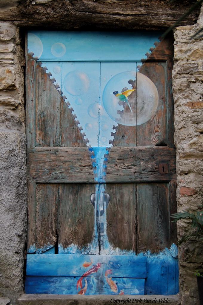 Le Porte Dipinte Di Valloria Italie Dirk Van De Velde