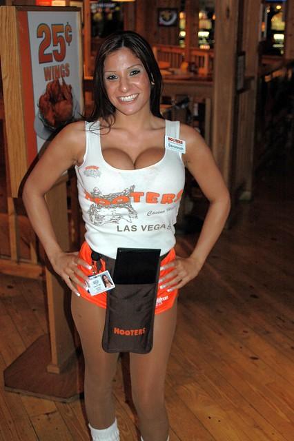Las Vegas Hooters Casino Girl Savannah Flickr Photo