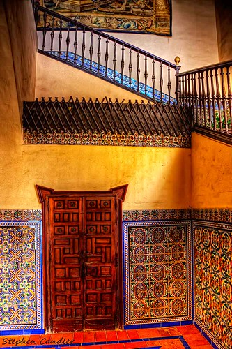 Alcazar Doorway & Stairs | by Light+Shade [spcandler.zenfolio.com]