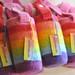 making rainbows...