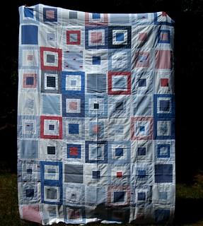 twin sized quilt top for my son | by three_little_pumpkins