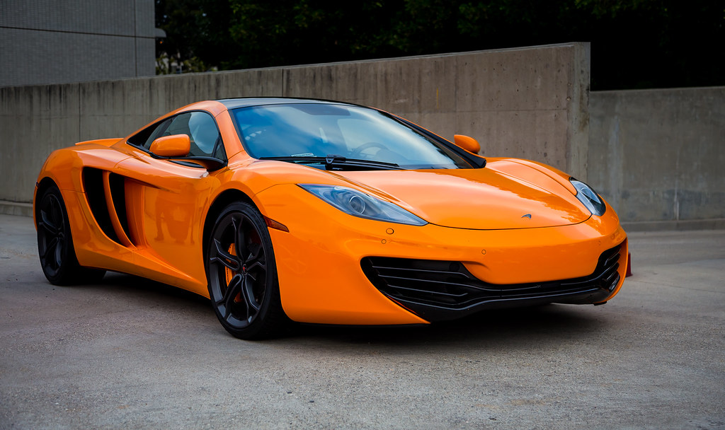 Orange Mclaren Mp4 12c An Example Of Brilliant British