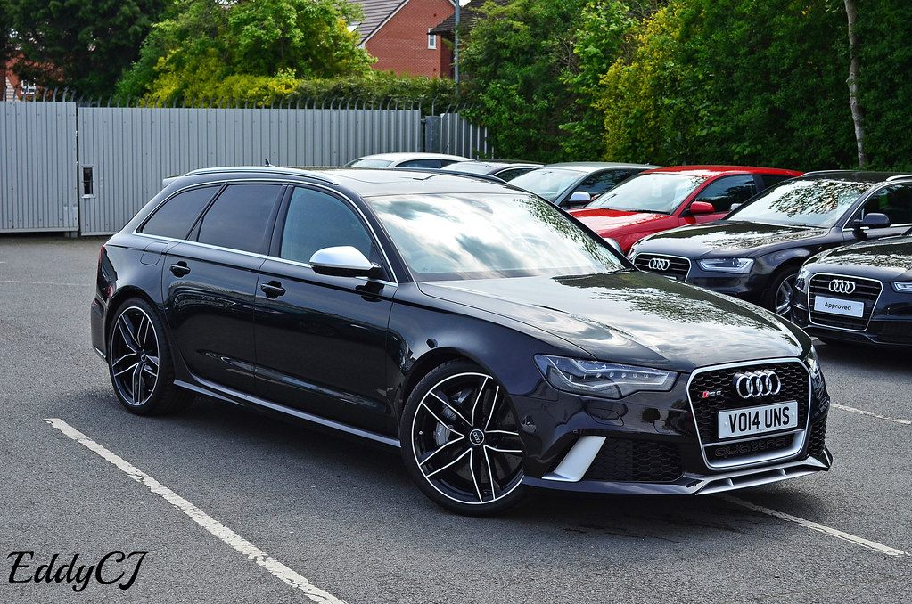 Audi Rs6 Avant The New Rs6 Is A Very Aggressive Looking