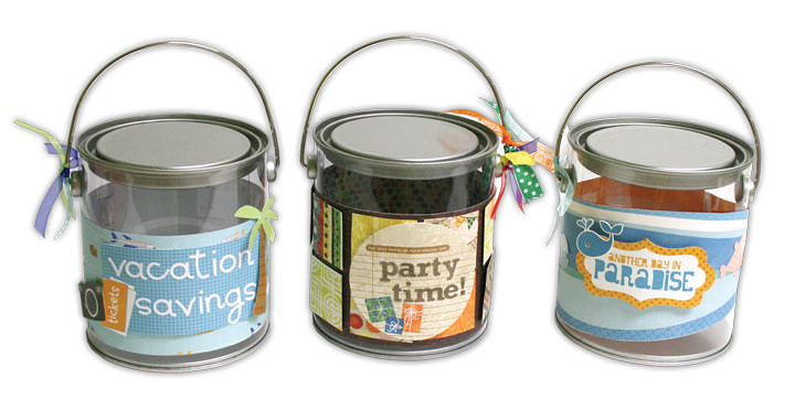Clear Paint Cans For Crafts