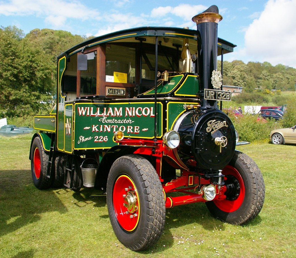 1928 FODEN Steam Wagon