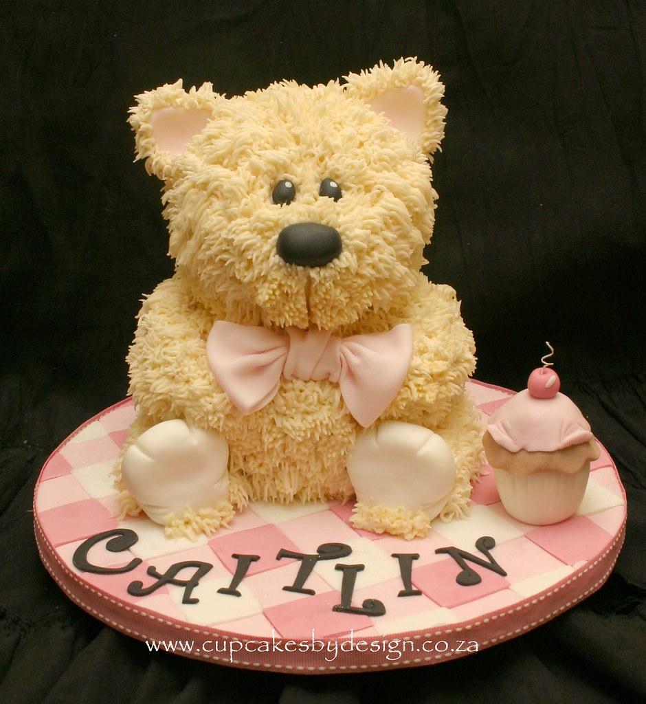 3D Teddy Cake Grace Stevens Flickr