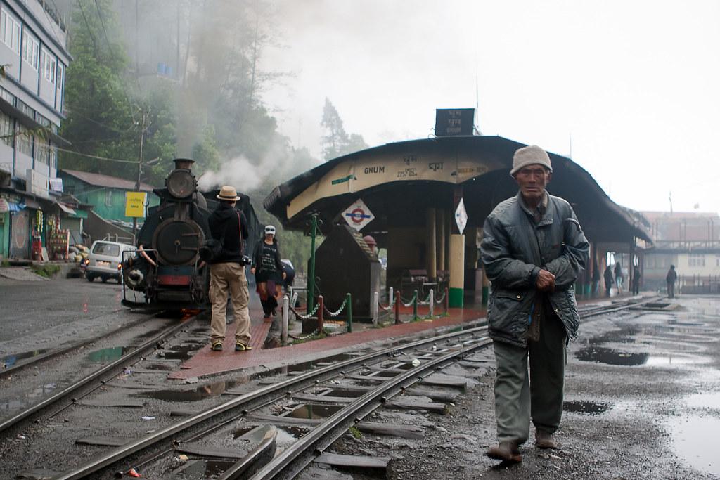 Ghum Railway Station Shot Darjeeling If You Wish To Use
