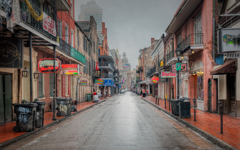 Foggy Bourbon Street |...