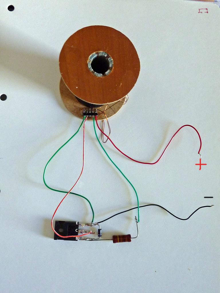 Circuito Motor Bedini : Ayuda motor bedini circuito electrónico para el