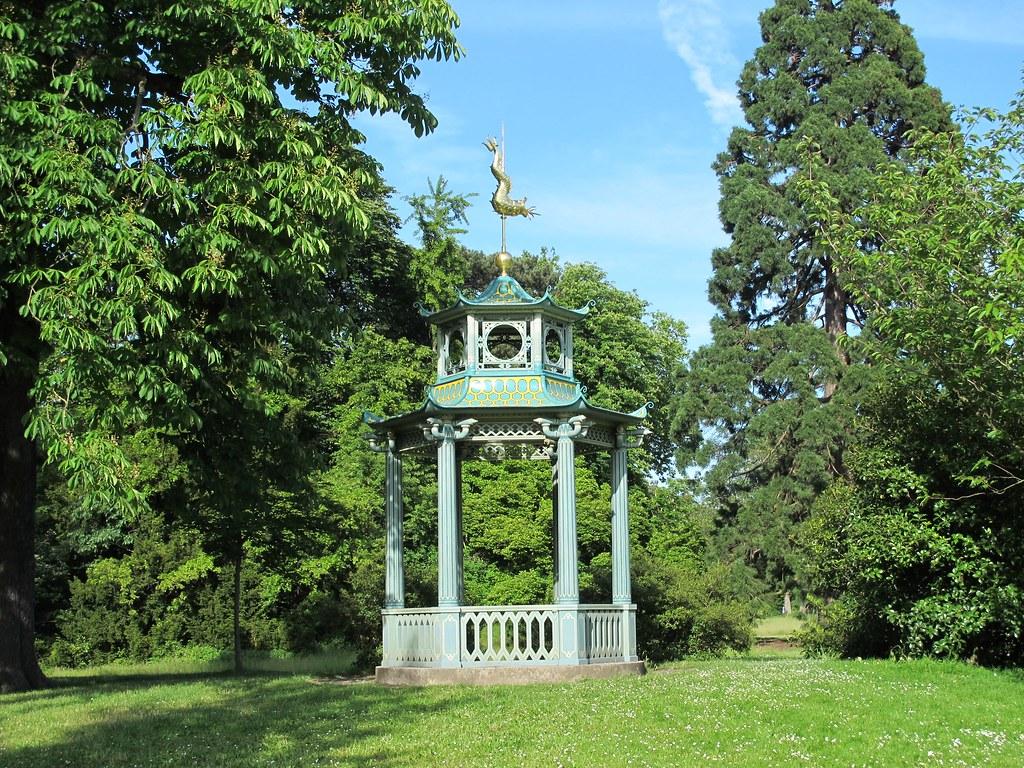Pagodon jardin de bagatelle bois de boulogne paris for Bagatelle jardin paris