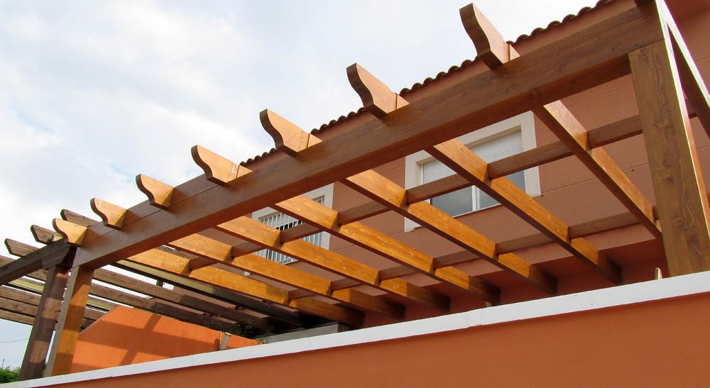 P rgolas de madera en valencia las p rgolas de madera no - Pergolas de madera valencia ...