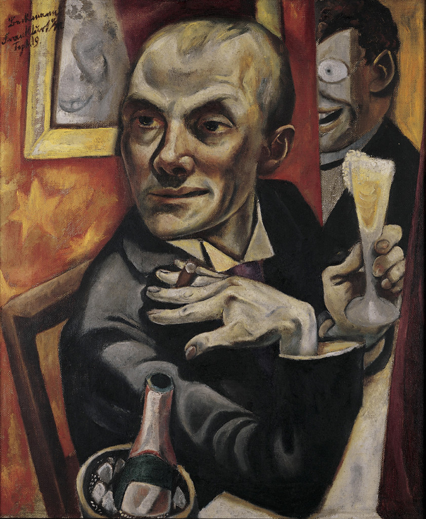 Image result for max beckmann self portrait