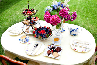 The spread for afternoon tea | by thewanderingeater