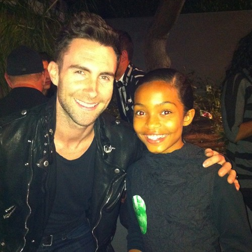 Musical Idol..Adam Levine & Yara | by commercialmommy