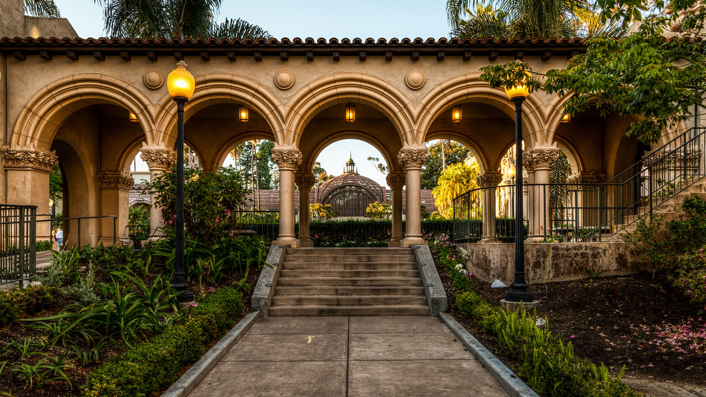 balboa park arches ive lacked a bit of inspiration