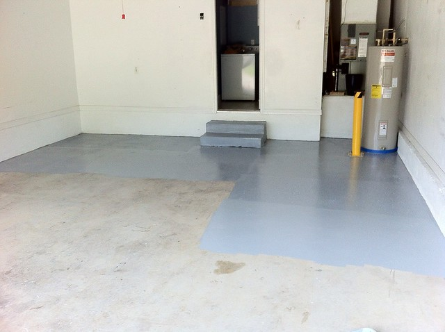 Garage Paint Floor Concrete