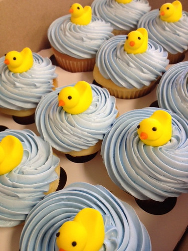 Yellow duckie cupcakes | by Robin Schantz