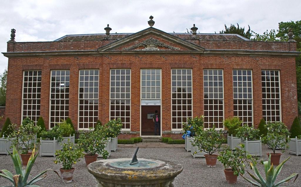 Hanbury Hall Orangery Orangery at Hanbury Hall
