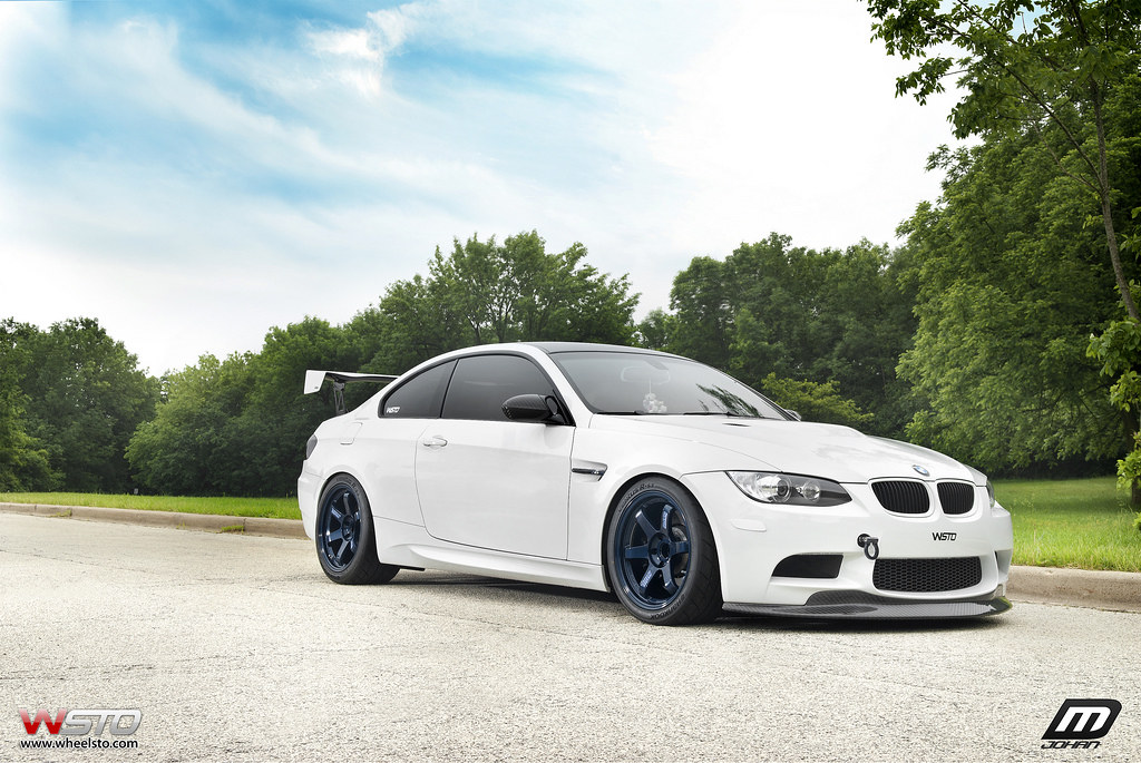 Bmw E 92 >> TE37 DARK BLUE BMW M3 E92 | Courtesy of wheelsto | MACKIN INDUSTRIES | Flickr