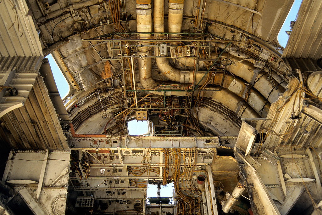 Lockheed Dissection Mojave Ca 1997 Gutted Insides Of