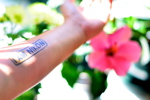 I AM NIKON Tattoo | by Peety Goring