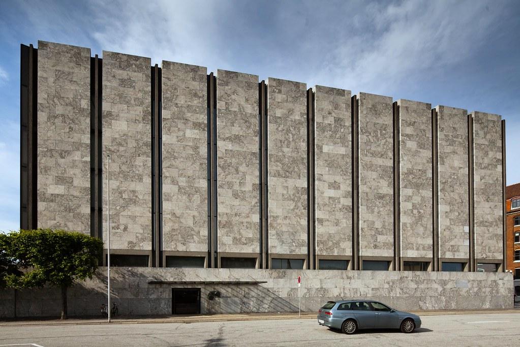 Danmarks Nationalbank Architect Arne Jacobsen 1961