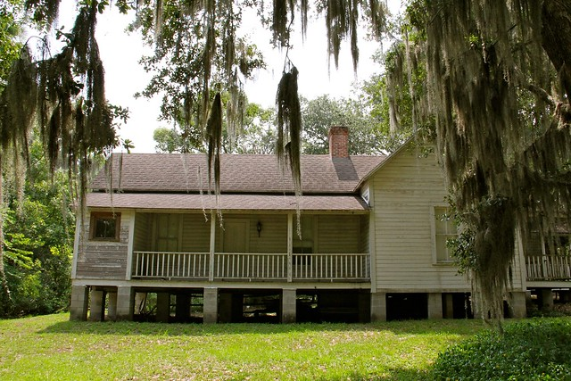 Florida cracker style home in mcintosh fl flickr for Florida cracker style homes
