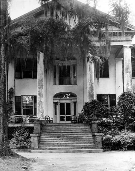 Mansion In The 1930s Prior To Purchase Of The Mansion By
