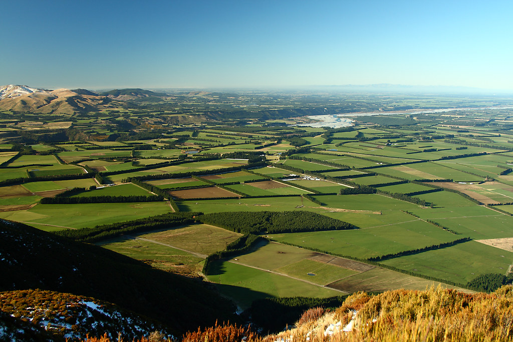 Canterbury Plains Nathanael Coyne Flickr