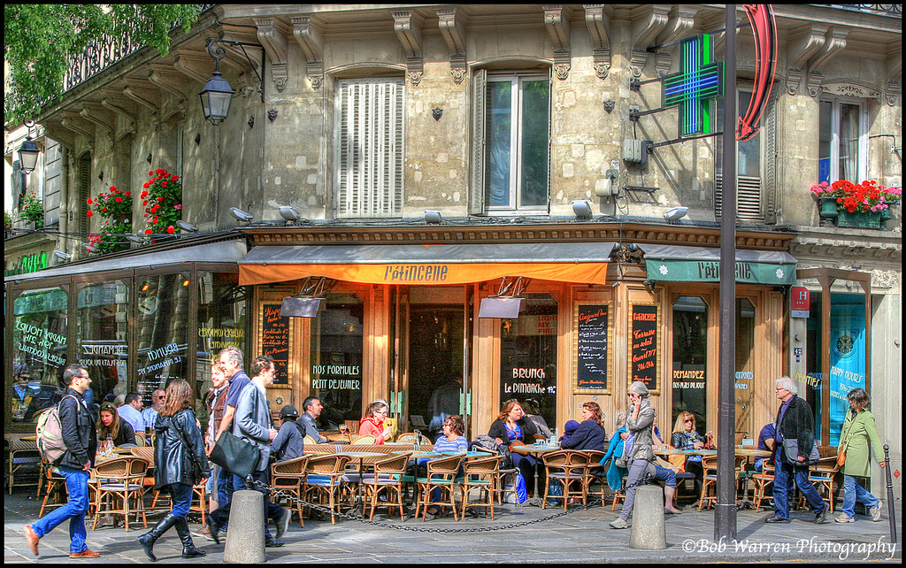 Cafe Marais Paris