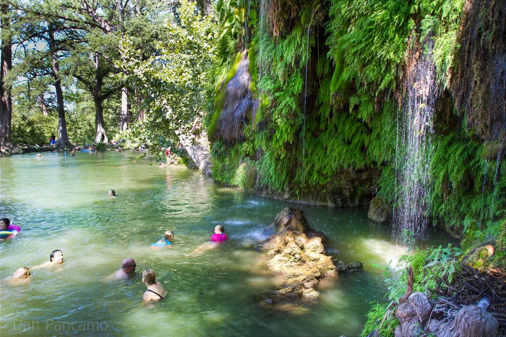 Krause Springs Near Austin Texas Photo By Dan Pancamo