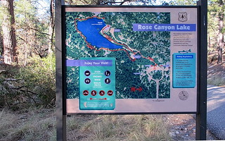 Rose Canyon Lake Sign - Coronado National Forest | by Al_HikesAZ