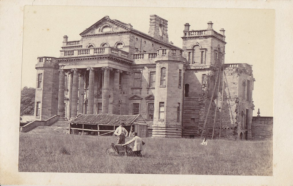 Seaton Delaval Hall In The Summer Of 1862 One Of The
