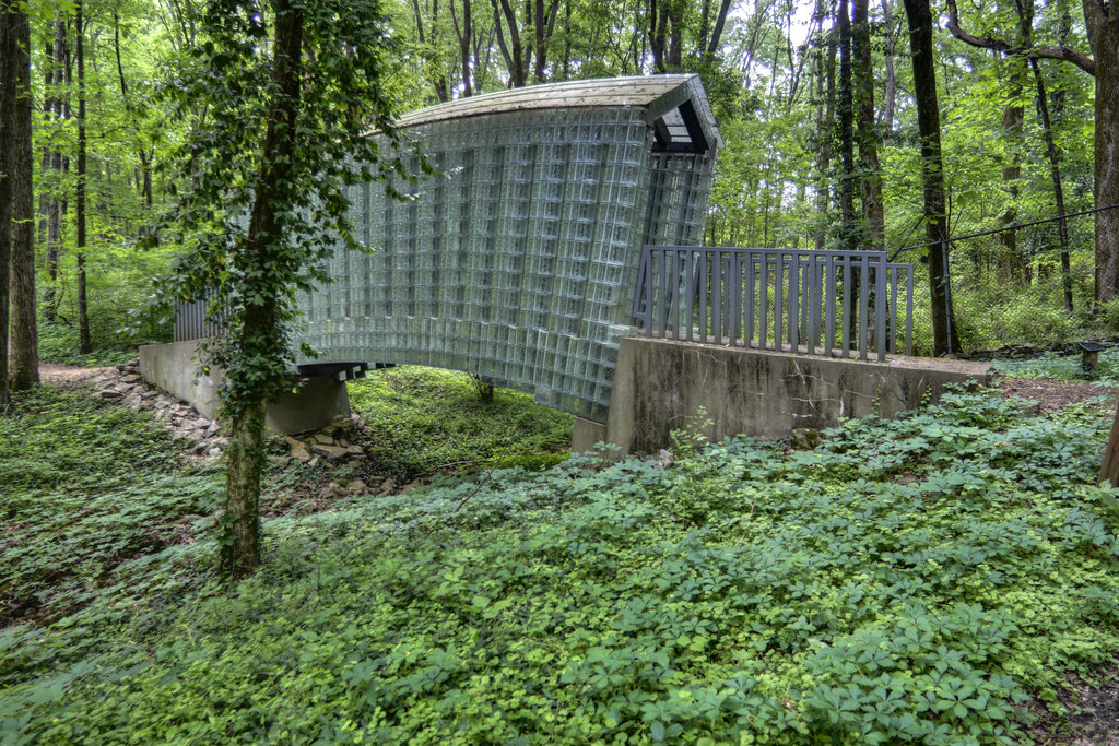 Glass Bridge Cheekwood Botanical Garden Nashville Tenne Flickr