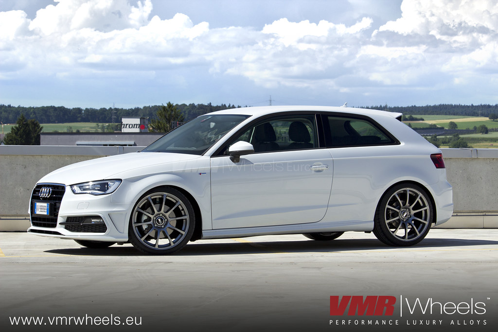 Vmr Wheels V701 Gunmetal Audi A3 Vmr Wheels V701