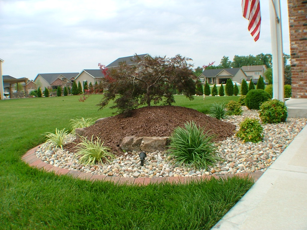 Easy landscape designs for beginners with photos for Basic landscaping