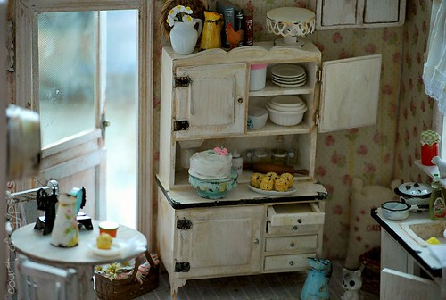 Nana's Kitchen Miniature | by Atomic Blythe