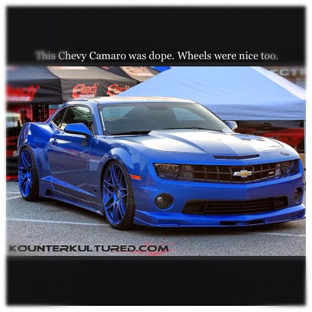 Dope Chevy Camaro Kounterkultured Dopewheels Hellaflus Flickr