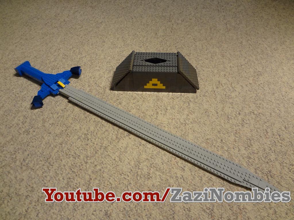 lego legend of zelda master sword life size the legend