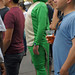 Lizzard Suit Guy at Green Music Festival