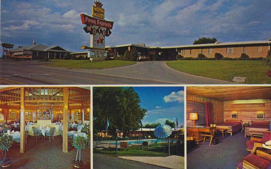 Pony Express Motel & Restaurant - St. Joseph, Missouri ...