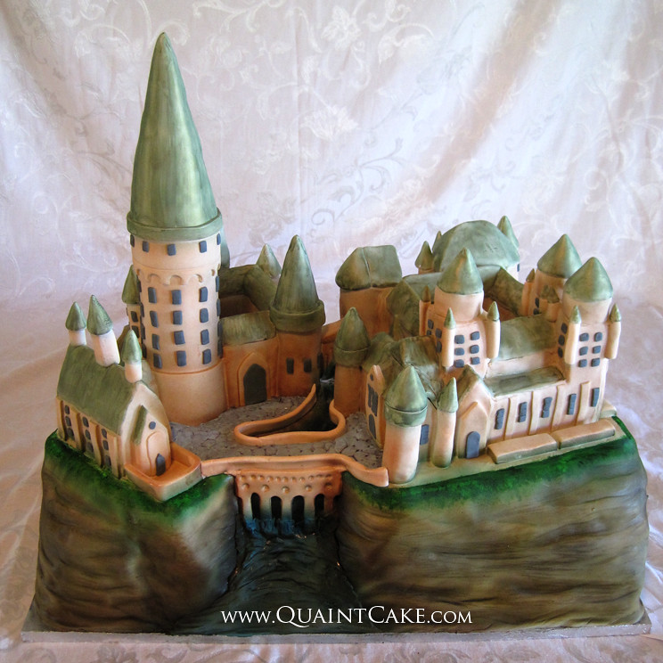How To Make A Harry Potter Castle Cake