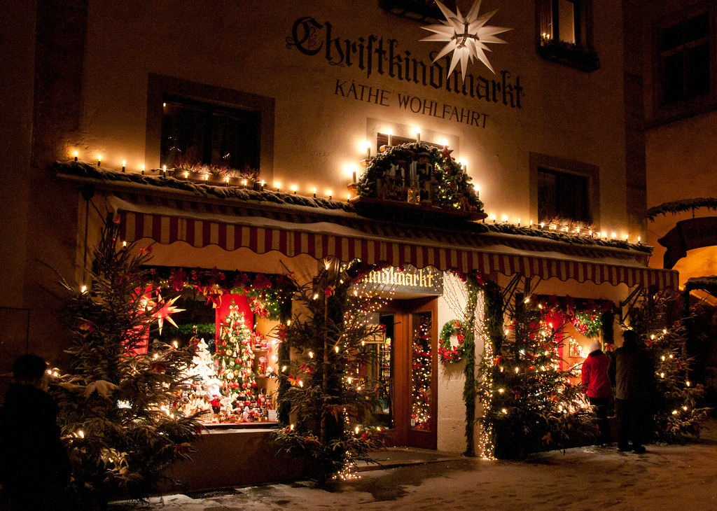 Rothenburg germany the kathe wohlfahrt store in for The christmas store