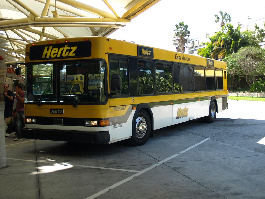 Hertz Orlando Bus Gillfoto Flickr